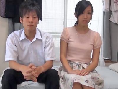 【エロ動画】金のため童貞教え子と中出しセックスを行う巨乳ビッチなJD家庭教師