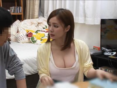 【エロ動画】童貞生徒から凌辱レイプを受けて騎乗位・正常位で中出しされる爆乳家庭教師