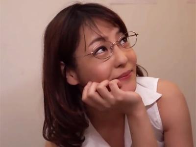 【エロ動画】ザーメンが大好きなスレンダー痴女OLがフェラチオ&騎乗位で暴れ回ってザーメンごっくん!