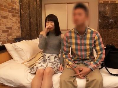 【エロ動画】巨乳JDが彼氏との中出しセックスをホテルで盗撮されるハメ撮りセックス