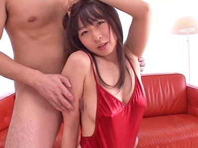 【エロ動画】脇が弱点というスレンダー美少女・羽月希にフェラチオ&脇擦股させザーメンをぶっかけ